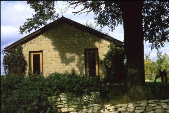 Bamlett Schoolhouse, where Haidy and Farmer John live and learn