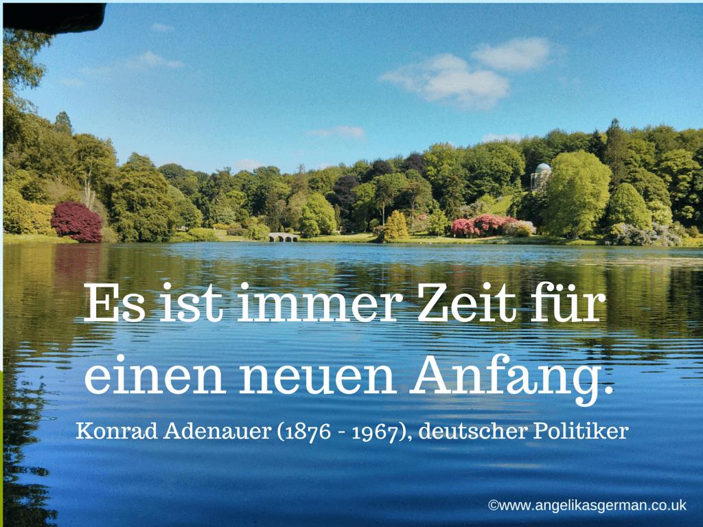 Es Ist Immer Zeit Für Einen Neuen  Angelika's German
