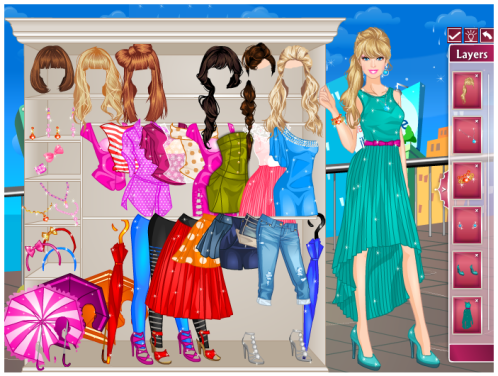 Online Barbie Dress Up Games For Girls Dress Up Barbie Games