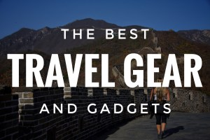 The Best Travel Gear - Angelina Around the World
