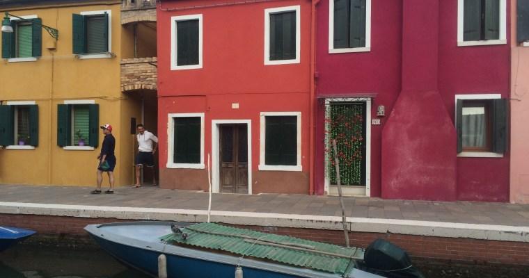 Postcards from: Murano & Burano