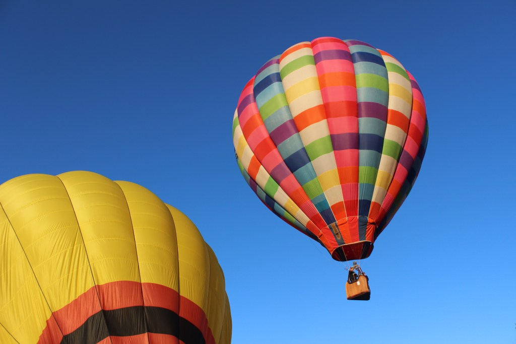 hot air balloon ride in New York