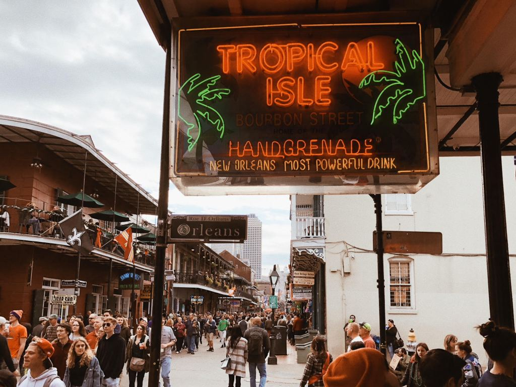 guide to bourbon street