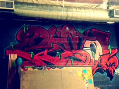 Street Science graffiti