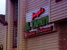 Our fave Mexican restaurant