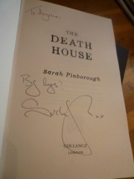 The Death House signed by Sarah Pinborough