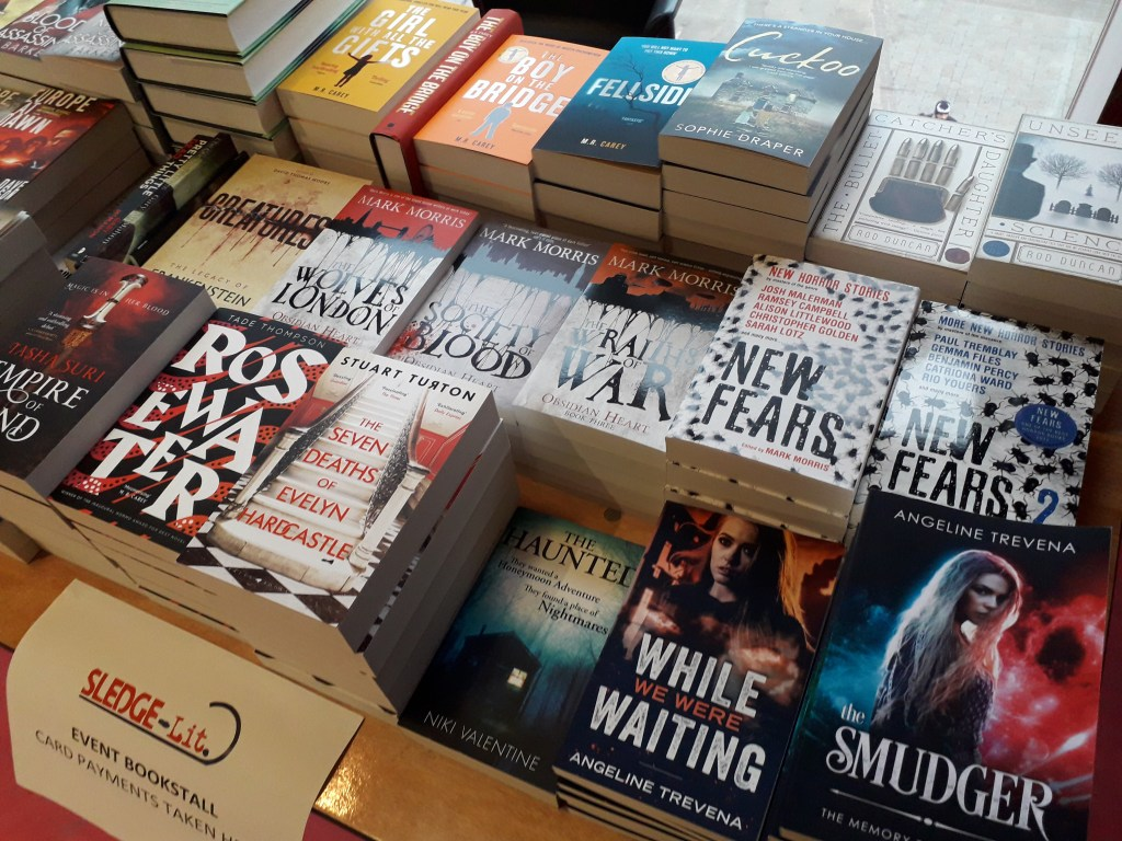 Books for sale at Sledge-Lit