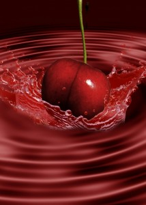 cerise et sang