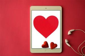 coeur tablette