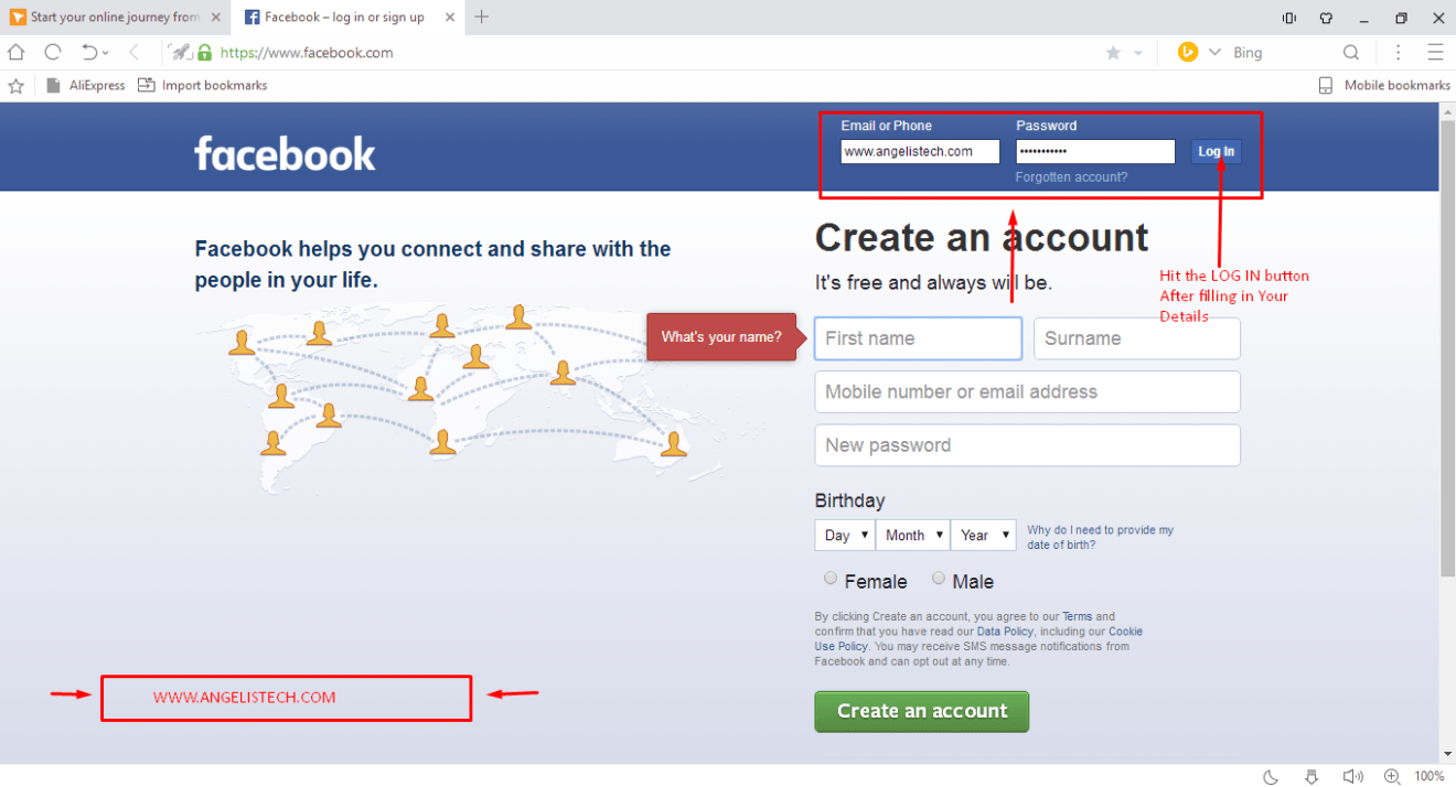 Click On The Message Box How To Change Remove Facebook Login Email  Address 3 Ways To Delete A Facebook Page Wikihow  Postcronloginhowtowatermarkanimage