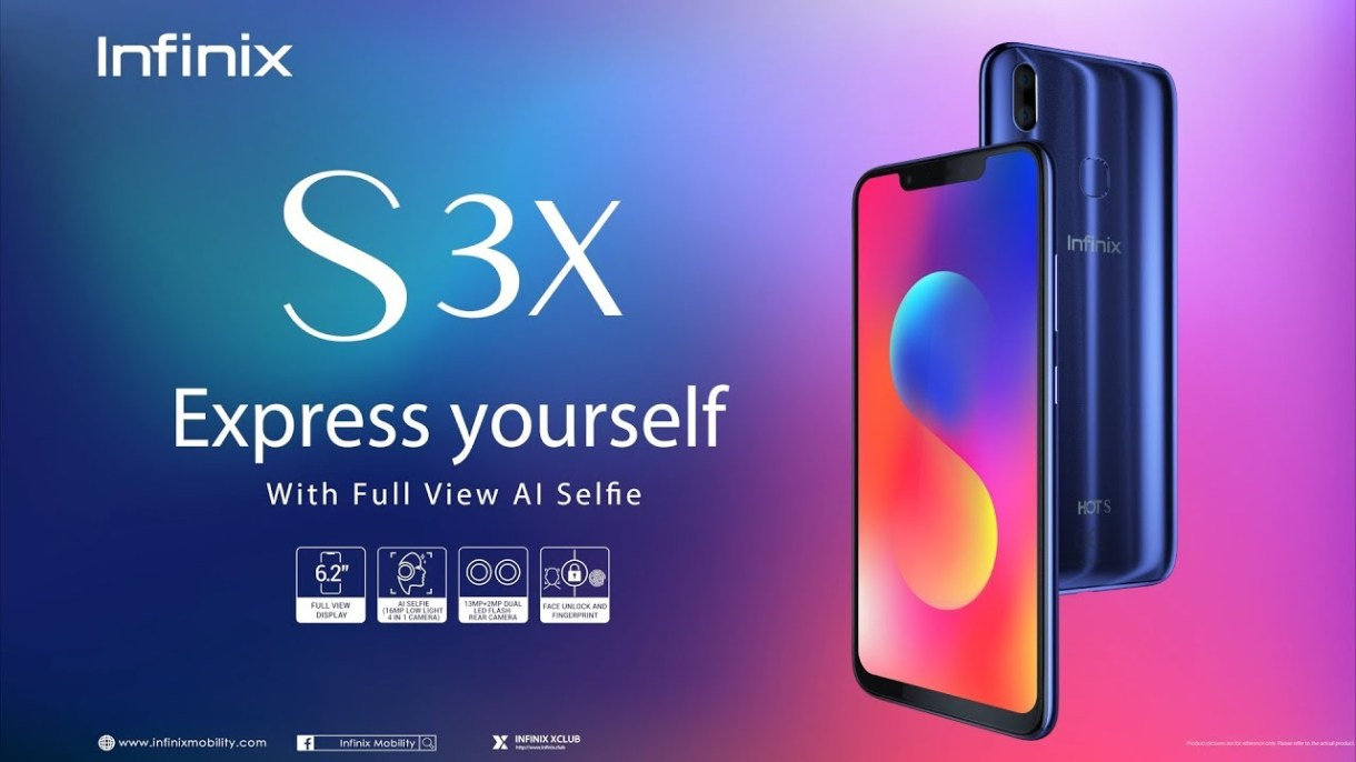 Infinix S3X, Express yourself