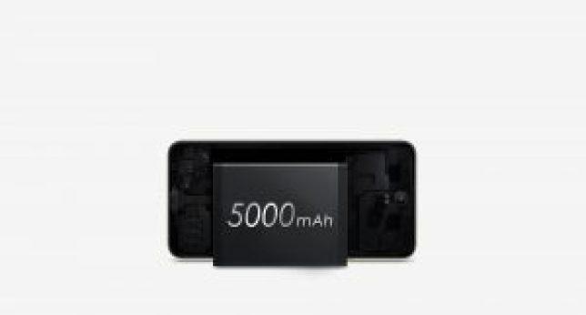 5000 mAh Battery capacity