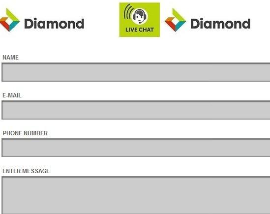 diamond live chat - Ways to contact Diamond Bank Customer Care