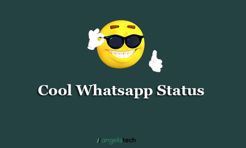 Cool Whatsup Status