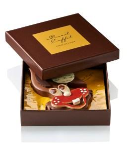 boite lapin Chocolats Pâques Pascal Caffet