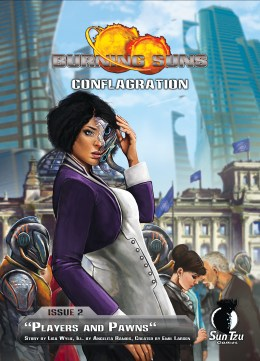 Burning Suns - Conflagration Issue 2 - Cover