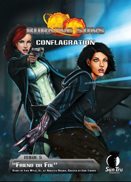 Burning Suns - Conflagration Issue 5 - Cover