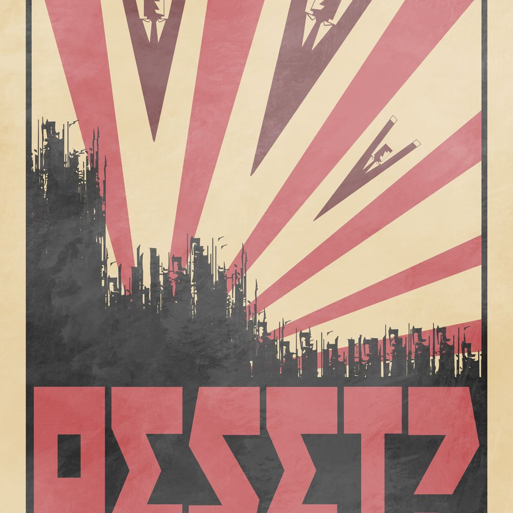 Graphic Design - The Editors: Reset Propaganda Poster