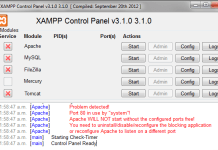 Solucion al error puerto 80 xamp