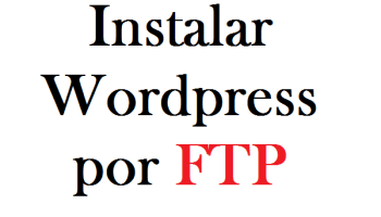 wordpress por ftp