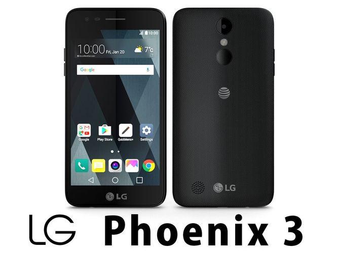 Liberacion de Compañia LG Phoenix 3 AT&T