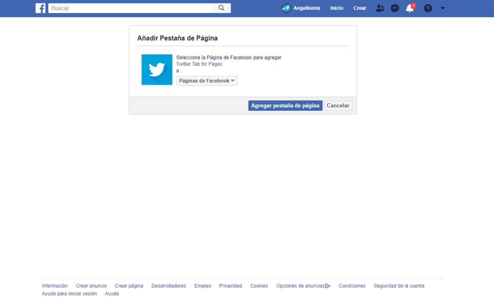 5 twiter en facebook