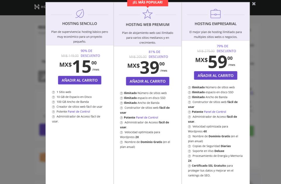 comprar dominio y hosting plan en hostinger min