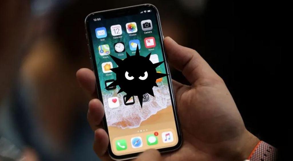 virus en iphone