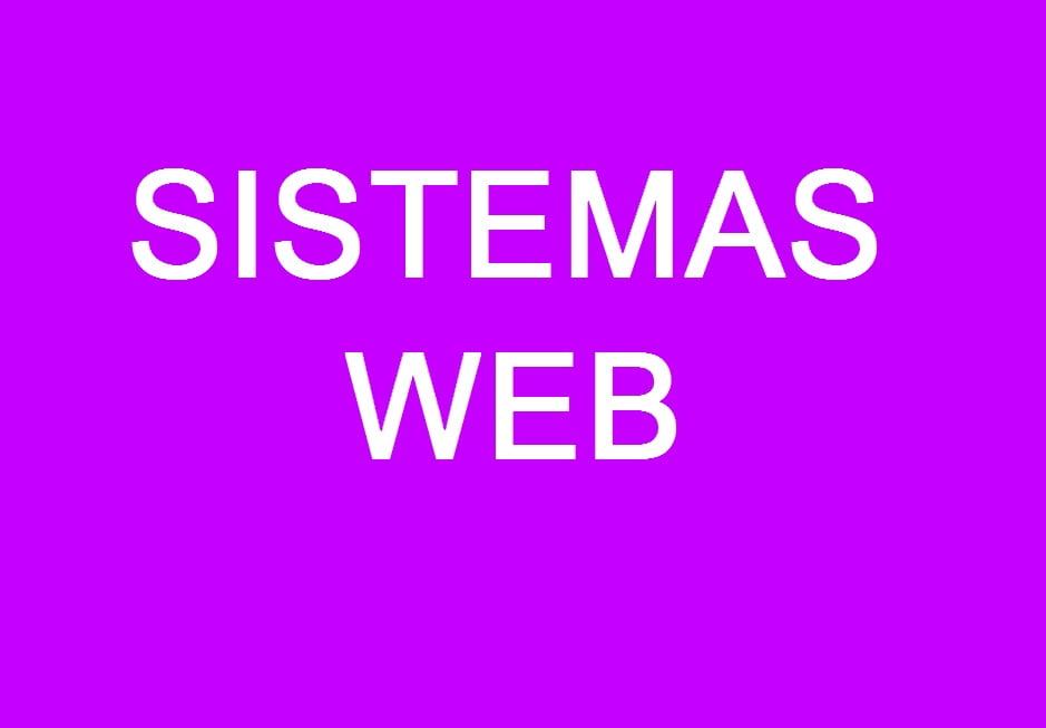 Creacion de sistemas Web