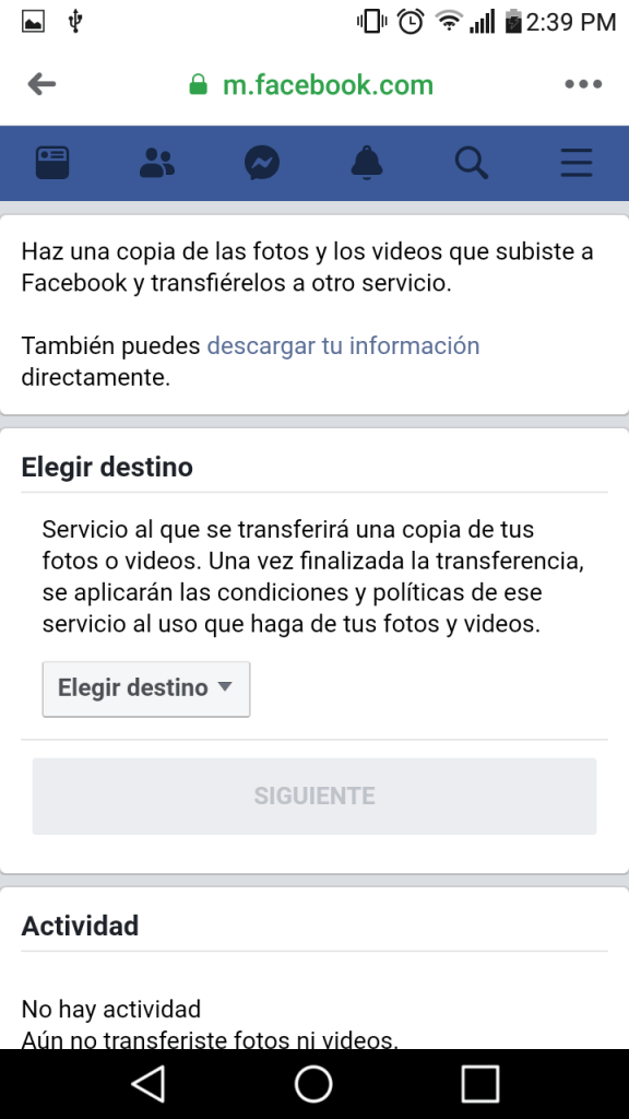 6 transferir fotos y videos de facebook a google fotos facil paso a paso