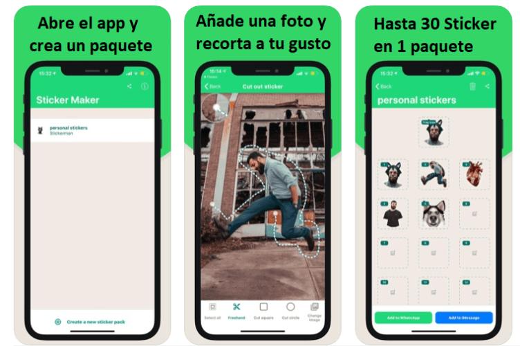 crea stickers para usar en tu whatsapp android o ios