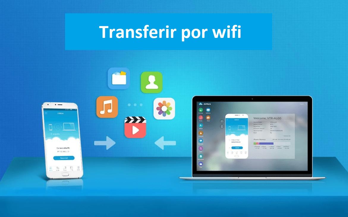transferir todo tipo de archivos por wifi del celular a la computadora