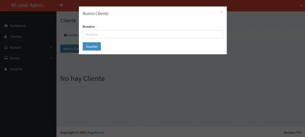 Sistema web para control de ciber cafe online en php y mysql clientes