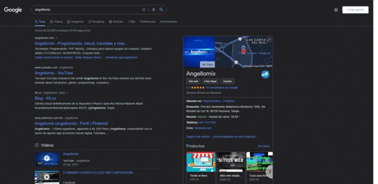Activando tema oscuro en google chrome 2021 nuevo de escritorio