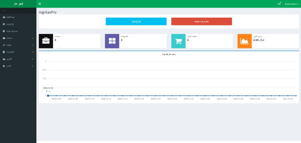 نظام ويب للتحكم في الدخل والمصروفات في php و mysql