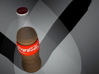 COCA COLA BOTTLE RENDER3