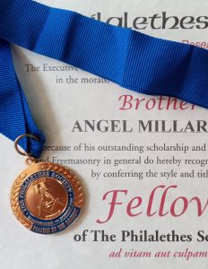 Angel Millar Made Research Society Fellow