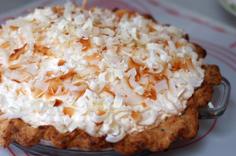 Triple Coconut Cream Pie (4/4)