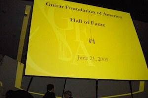 Angelo Gilardino nella Hall of Fame del Guitar Foundation of America
