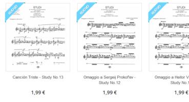 Gli studi di Virtuosità e di Trascendenza in formato PDF