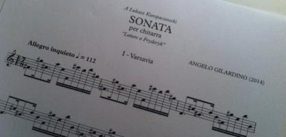"""Sonata """"Lettere a Fryderyk"""""""
