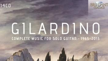 Brilliant Classics pubblica l'integrale della musica di Gilardino