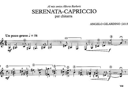 Tre composizioni gratuite di Angelo Gilardino