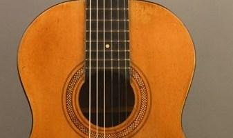 Chitarra di Luigi Mozzani