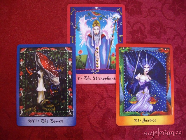 The Healing Key Tarot Reading with the Faerie Tarot by Nathalie Hertz