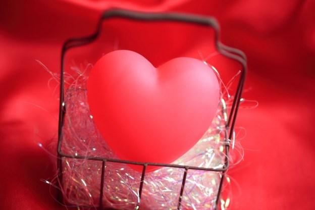 sweetie love heart in a basket