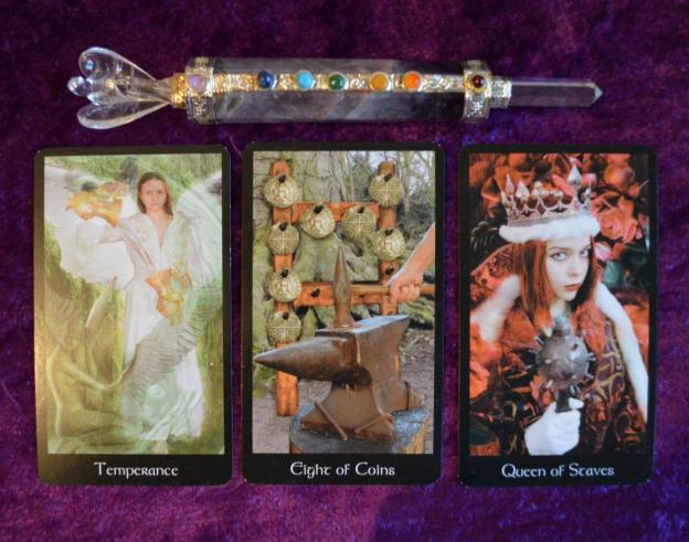 modern medieval tarot sample images 2
