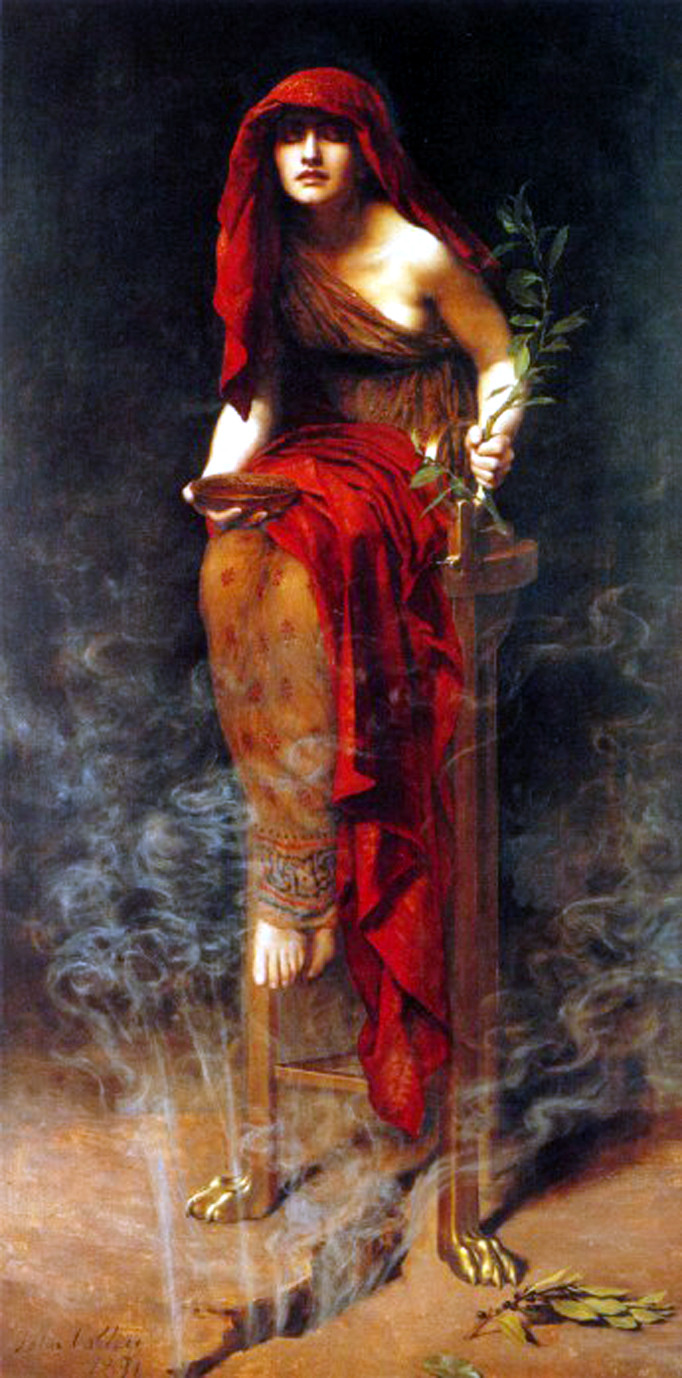 The Pythia at Delphi by John Collier