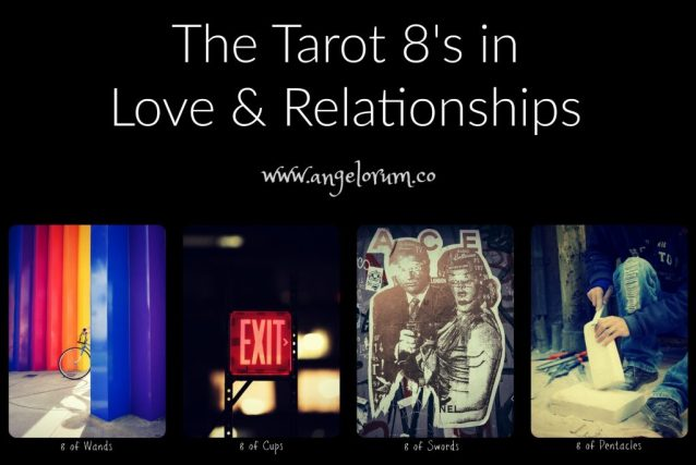 the tarot 8's in love and relationship readings