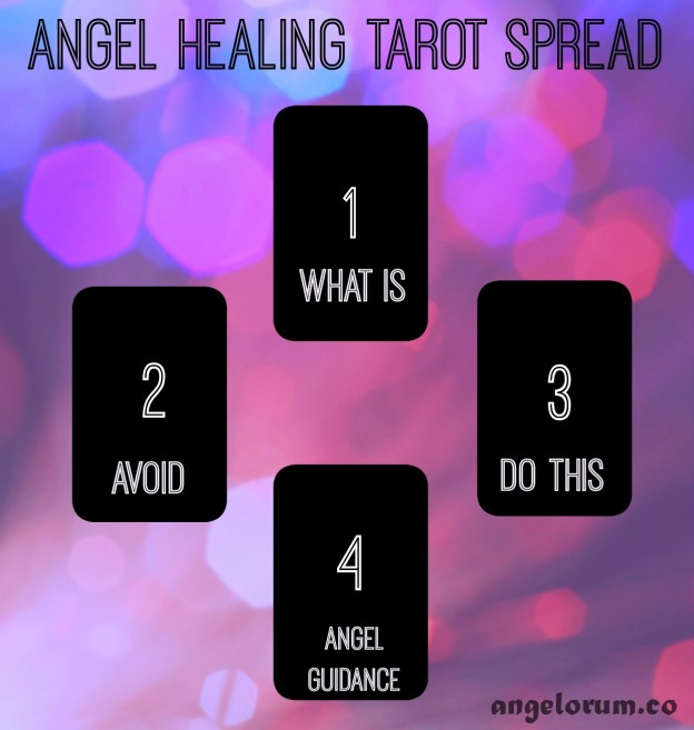 angel healing tarot spread